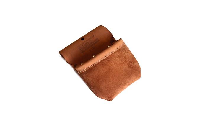 Petite poche à rabat en cuir 5 oz
