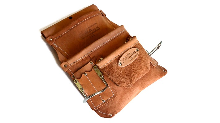 Pouch, with 3 pockets - multiple accessories