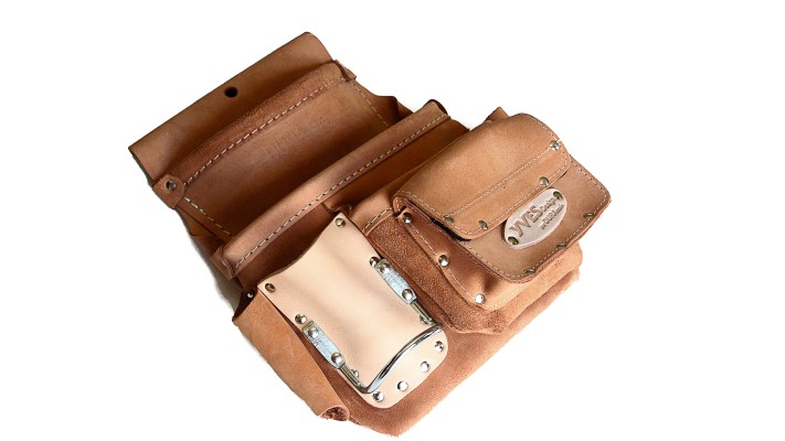 Pouch - 3 pockets - inside loop + accessories- LEFT side