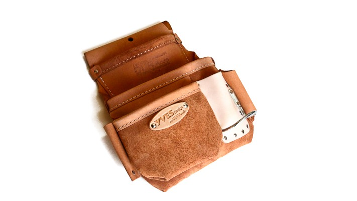 Pouch - 3 pockets - inside loop - LEFT side